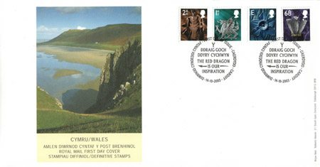 2003 Regional First Day Cover from Collect GB Stamps