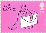 'Occasions' Greetings Stamps 1st Stamp (2004) Postman