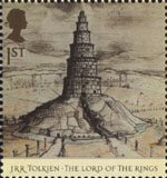 The Lord of the Rings 1st Stamp (2004) Orthanc