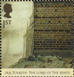 The Lord of the Rings 1st Stamp (2004) Barad-dur
