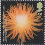 Bicentenary of the Royal Horticultural Society (1st issue) 1st Stamp (2004) Dahlia 'Garden Princess'
