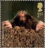 Woodland Animals 1st Stamp (2004) Mole