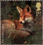 Woodland Animals 1st Stamp (2004) Fox