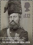 150th Anniversary of the Crimean War £1.12 Stamp (2004) Sgt. Glasgow, Royal Artillery, Gun Battery besieged Savastepol