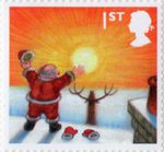 Christmas 1st Stamp (2004) Celebrating The Sunrise