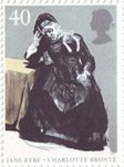 150th Death Anniversary of Charlotte Bronte 40p Stamp (2005) In the Comfort of Her Bonnet