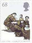 150th Death Anniversary of Charlotte Bronte 68p Stamp (2005) Refectory