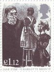 150th Death Anniversary of Charlotte Bronte �1.12 Stamp (2005) Inspection