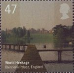 World Heritage Sites 47p Stamp (2005) Blenheim Palace, England