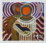 Christmas �1.12 Stamp (2005) 'Come let us adore Him' (Dianne Tchumut)