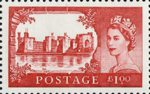 50th Anniversary of First Castles Definitives �1 Stamp (2005) Caernarfon Castle