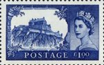50th Anniversary of First Castles Definitives �1 Stamp (2005) Edinburgh Castle