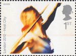 London's Successful Bid for Olympic Games, 2012 1st Stamp (2005) Javelin