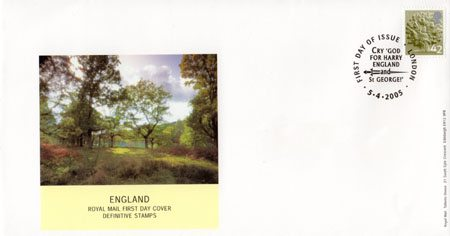 2005 Definitive First Day Cover from Collect GB Stamps
