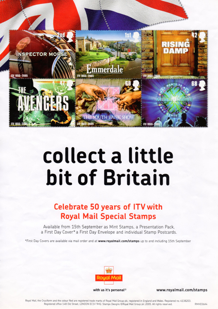 Poster from Collect GB Stamps