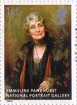 National Portrait Gallery 1st Stamp (2006) Emmeline Pankhurst by Georgina Brakenbury