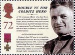 150th Anniversary of the Victoria Cross 72p Stamp (2006) Double VC for Colditz Hero - Captain Charles Upham