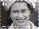Her Majesty The Queen's 80th Birthday 44p Stamp (2006) 1951
