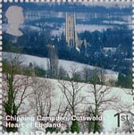 A British Journey - England 1st Stamp (2006) Chipping Campden, Cotswolds, Heart of England
