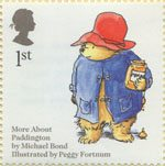 Animal Tales 1st Stamp (2006) Michael Bond's 'Paddington Bear'