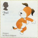 Animal Tales 2nd Stamp (2006) Mark Inkpen's 'Kipper'