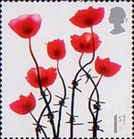Lest We Forget 1st Stamp (2006) Poppy