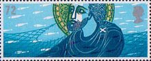 Celebrating Scotland 72p Stamp (2006) St Andrew