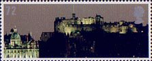 Celebrating Scotland 72p Stamp (2006) Edinburgh Castle