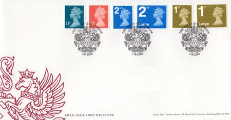 2006 Definitive First Day Cover from Collect GB Stamps