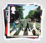 The Beatles 64p Stamp (2007) Abbey Road