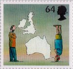 World of Invention 64p Stamp (2007) Telephone