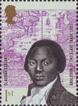 The Abolition of the Slave Trade 1st Stamp (2007) Olaudah Equiano