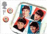 The Beatles 1st Stamp (2007) The Beatles