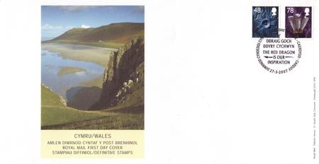 2007 Regional First Day Cover from Collect GB Stamps