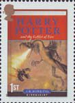 Harry Potter 1st Stamp (2007) Harry Potter and the Goblet of Fire