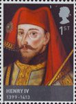 The Houses of Lancaster and York 1st Stamp (2008) Henry IV (1399-1413)