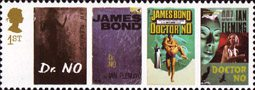 James Bond 1st Stamp (2008) Dr No