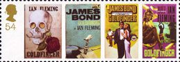 James Bond 54p Stamp (2008) Goldfinger