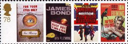 James Bond 78p Stamp (2008) For Your Eyes Only