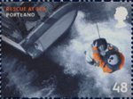 SOS - Rescue at Sea 48p Stamp (2008) Portland, Dorset