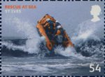 SOS - Rescue at Sea 54p Stamp (2008) St Ives, Cornwall