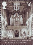 Cathedrals 56p Stamp (2008) St. Davids