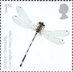 Endangered Species - Insects 1st Stamp (2008) Southern Damselfly