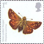 Endangered Species - Insects 1st Stamp (2008) Silver-spotted Skipper