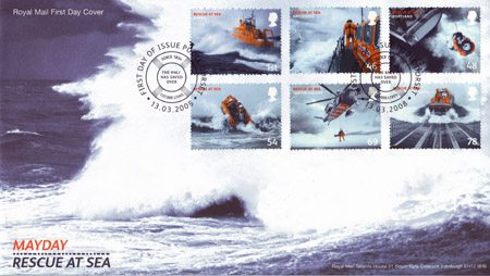 2008 Commemortaive First Day Cover from Collect GB Stamps