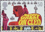 Carry on Hammer 50p Stamp (2008) Carry on Cleo