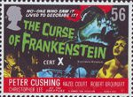 Carry on Hammer 56p Stamp (2008) The Curse of Frankenstein