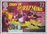 Carry on Hammer 72p Stamp (2008) Carry on Screaming