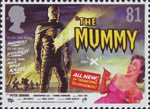 Carry on Hammer 81p Stamp (2008) The Mummy