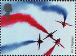 Air Shows 1st Stamp (2008) The Red Arrows
